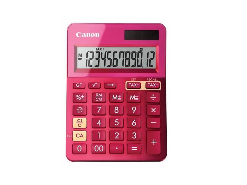 Калькулятор Canon LS-123K-MPK 12 разрядов розовый
