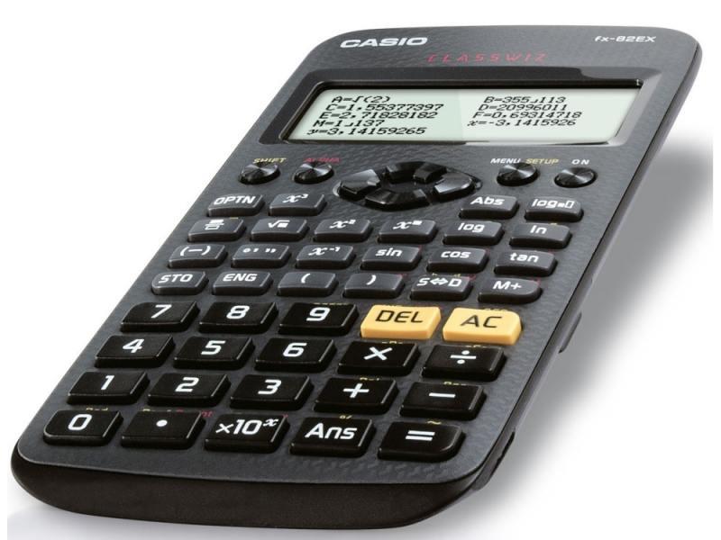 Калькулятор Casio Classwiz FX-82EX 12-разрядный черный калькулятор casio fx 85es plus 12 разрядный черный