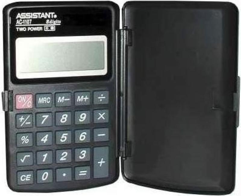 Калькулятор карманный Assistant AC-1107 8-разрядный AC-1107 бюстгальтер green dai 1107 100