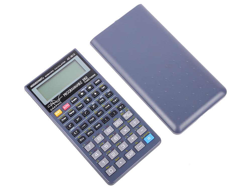 Калькулятор научный Assistant 10+2-разрядный  AC-3612