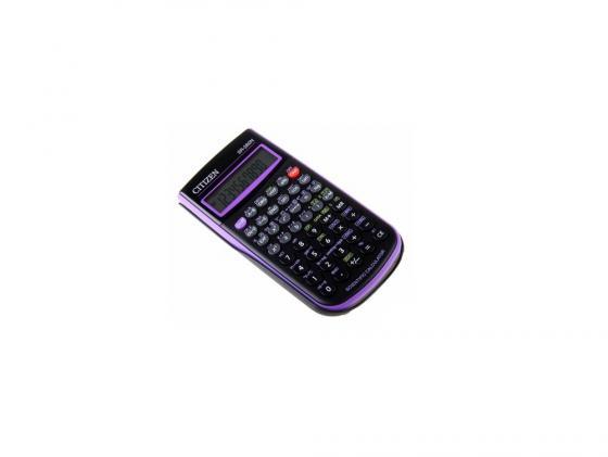 Калькулятор Citizen SR-260NPU 10+2 разряда научный 165 функций черно-фиолетовый