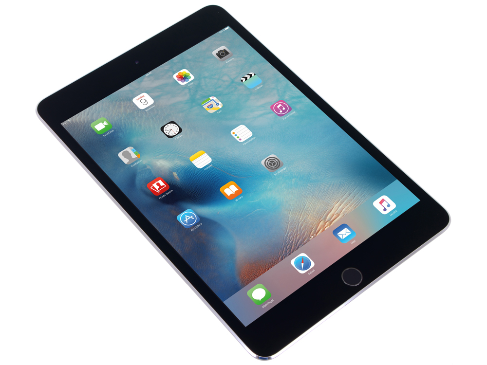 все цены на Планшет Apple iPad mini 4 MK762RU/A  128GB / Wi-Fi + Cellular / Space Gray онлайн