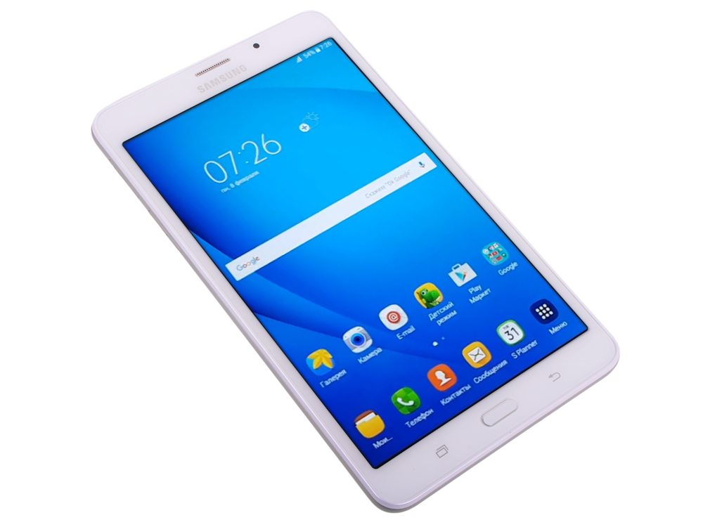 Планшет Samsung Galaxy Tab A 7.0 LTE SM-T285 White (SM-T285NZWASER) 1.3Ghz Quad/1.5Gb/8Gb/7 TFT 1280*800/ WiFi/3G/LTE/BT/2cam/Android/White* планшетный компьютер samsung galaxy tab 3 lite sm t116 7 1024mb 8gb wifi bt android4 4 black
