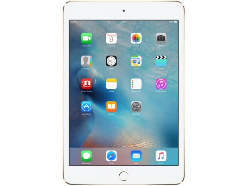 Планшет Apple iPad mini 4 128Gb 7.9 Retina 2048x1536 A8 IOS Gold золотой MK9Q2RU/A cheerlink universal desktop stand for retina ipad mini cell phone tablet pc black blue
