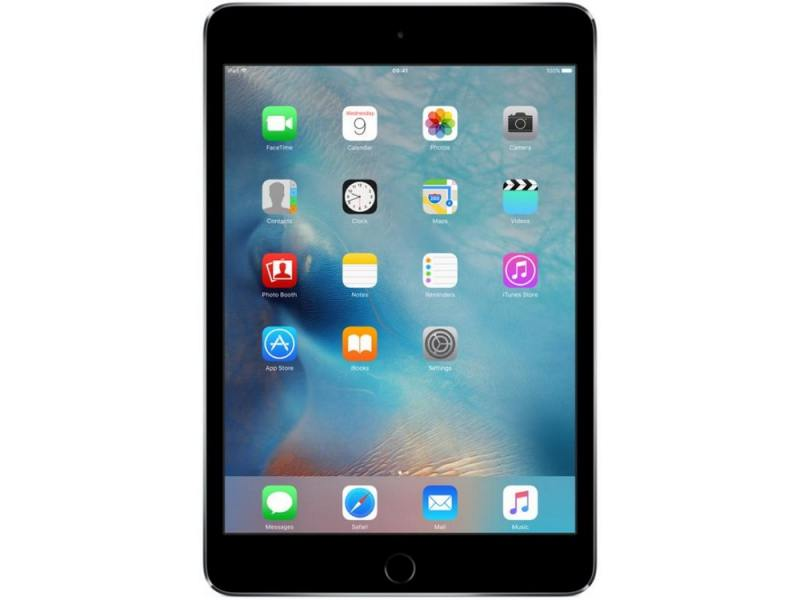 Планшет Apple iPad mini 4 128Gb 7.9 Retina 2048x1536 A8 IOS Space Gray серый MK9N2RU/A