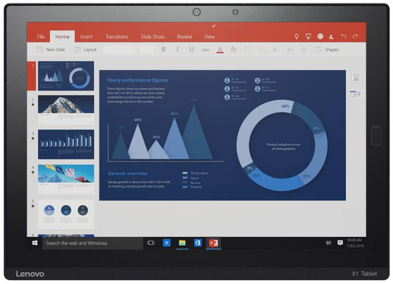 Планшет Lenovo ThinkPad X1 Tablet 12 256Gb черный Wi-Fi 3G Bluetooth 4G NFC Windows 20GG002ART