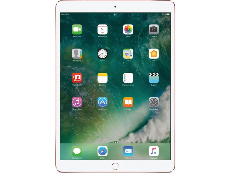 Планшет Apple iPad Pro MPHK2RU/A 256Gb Wi-Fi + Cellular 10.5 (2224x1668) Retina/A10X/3G+LTE/GPS+GLONASS/WiFi/BТ/12.0MP/iOS Rose Gold apple ipad 3 32gb wifi
