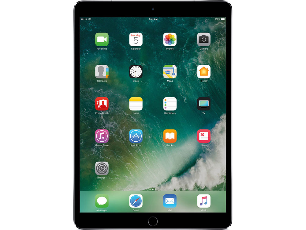 Планшет Apple iPad Pro MQEY2RU/A 64Gb Wi-Fi + Cellular 10.5 (2224x1668) Retina/A10X/3G+LTE/GPS+GLONASS/WiFi/BТ/12.0MP/iOS Space Gray fashion 360 rotating case for ipad pro 12 9 inch litchi leather stand back cover apple fundas