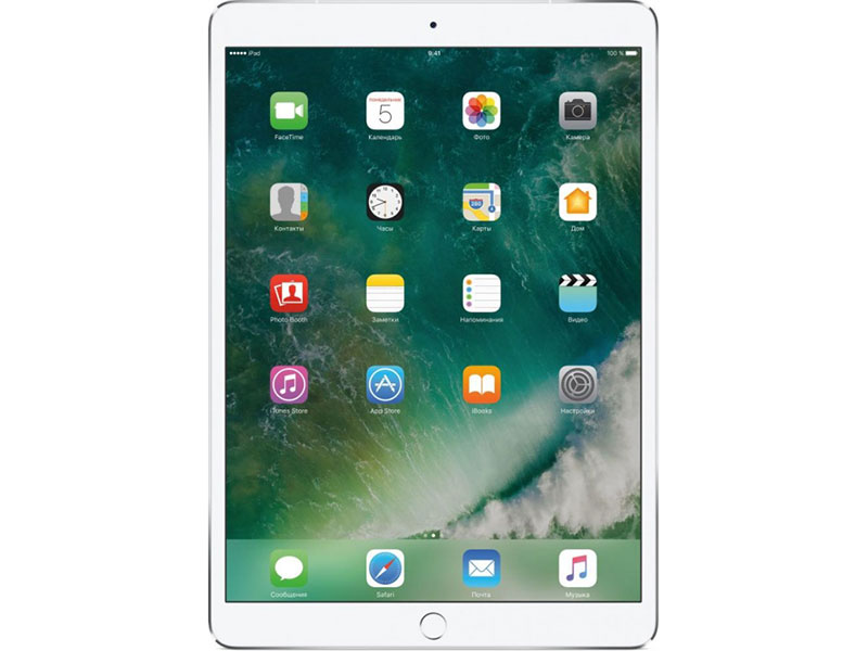 Планшет Apple IPAD PRO WI-FI 10.5 Retina MPGJ2RU/A Apple A10X Fusion (2.3) / 4Gb / 512Gb / 10.5 IPS / Wi-Fi / BT / 12+7mpx / iOS / Silver планшет apple ipad pro mphj2ru a apple a10x fusion 2 3 4gb 256gb 10 5 ips wi fi bt 12 7mpx ios gold
