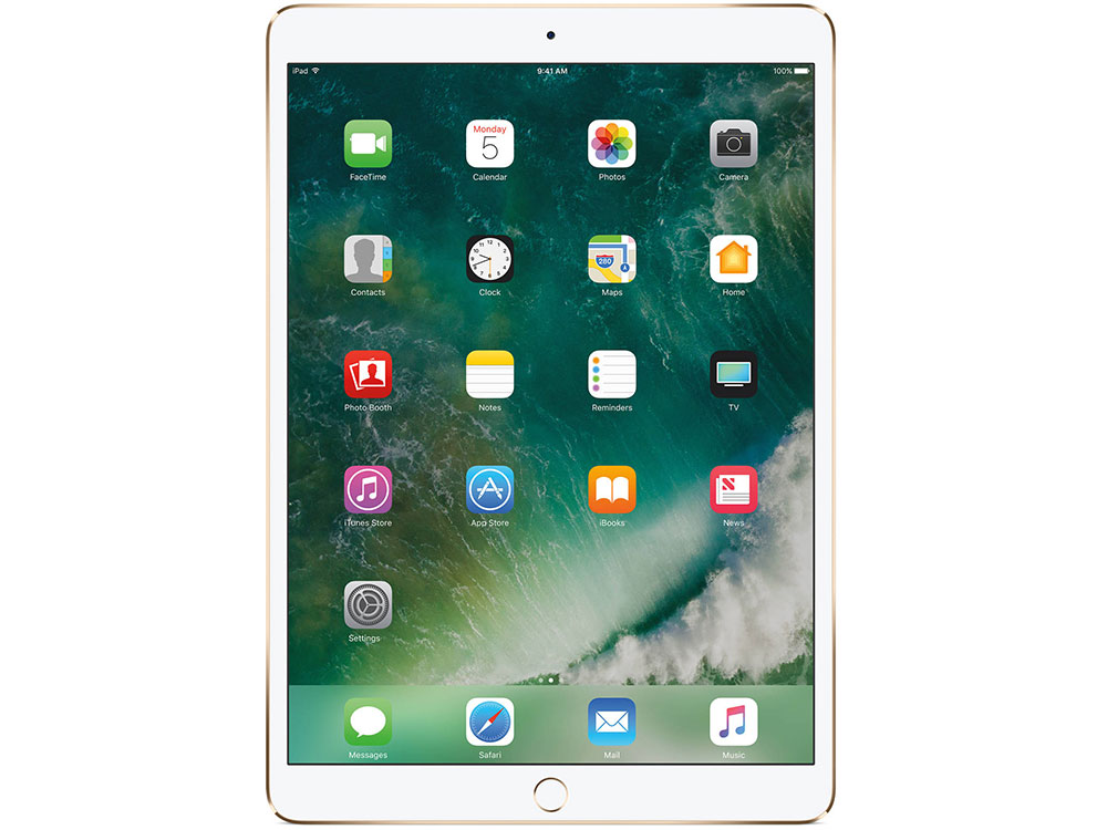 Планшет Apple iPad Pro 10.5 Wi-Fi MPGK2RU/A 512GB 10.5 IPS (2224x1668) Retina/A10X/WiFi/BТ/12.0MP/iOS/Gold планшет apple ipad wi fi cellular 128gb retina mrm22ru a 9 7 ips 2048x1536 retina a10 3g lte wifi bт 8 0mp ios11 gold