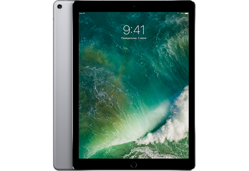 Планшет Apple iPad Pro MQED2RU/A A10X Fusion (2.3) / 4Gb / 64Gb / 12.9 IPS Retina QXGA / Wi-Fi / BT / 3G / LTE / 7+12mpx / iOS / Space Gray компьютерные аксессуары oem 5pcs ipad wifi 3g gps