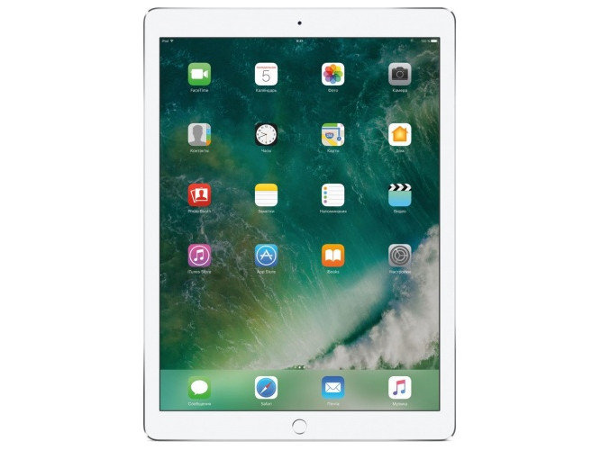 Планшет Apple iPad Pro MPL02RU/ A10X Fusion (.38) / 4Gb / 512Gb / .9 IPS QSXGA / Wi-Fi / BT / 7+12mpx / iOS / Silver