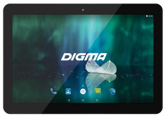 Планшет Digma Plane 1526 4G (Black) MediaTek MT8735M (1.0) / 1Gb / 16Gb / 10.1 1280x800 / 2SIM / 3G / 4G LTE / WiFi / BT / GPS / Android 5.1 планшет dell venue8 16gb wifi v8 16rb 3g