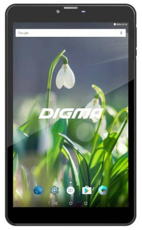 Планшет Digma Plane 8522 3G (Black) MediaTek MT8321 (1.3) / 1Gb / 8Gb / 8 1280x800 / 2SIM / 3G / WiFi / BT / GPS / 2Mp, 0.3Mp Cam / Android 7.0