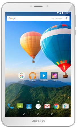 Планшет ARCHOS 80d Xenon 8 16Gb белый Wi-Fi 3G Bluetooth Android 503181 планшет archos 101b helium 10 1 16gb серебристый wi fi 3g bluetooth 4g android 503325
