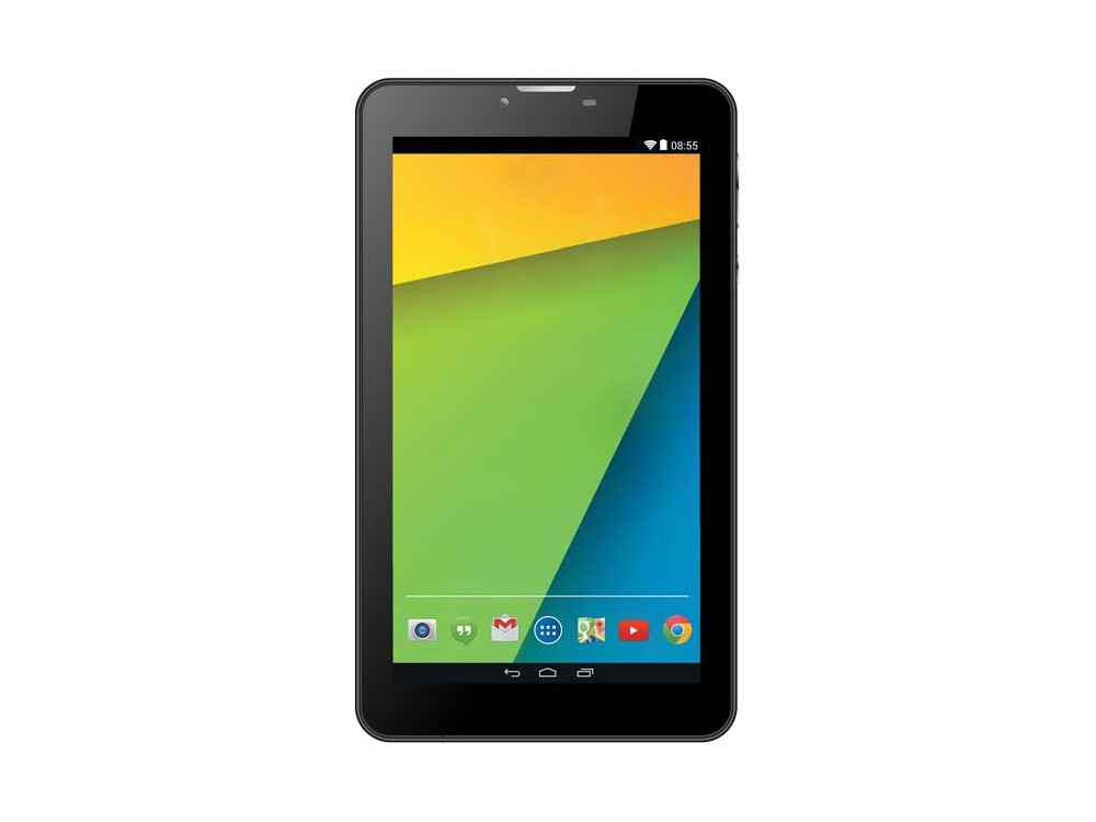 Планшет Supra M74DG SC7731G (1.2)/512MB/4GB/7'' 1024x600/WiFi/BT/3G/0.3Mp, 0.3Mp/Android 5.1 (Black)