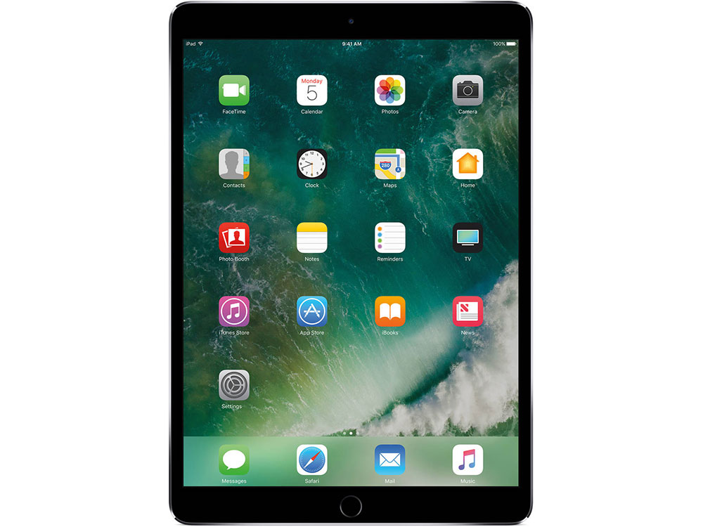 Планшет Apple IPAD PRO WI-FI 10.5 Retina MPDY2RU/A Apple A10X Fusion (2.3) / 4Gb / 256Gb / 10.5 IPS / Wi-Fi / BT / 12+7mpx / iOS / Space Gray