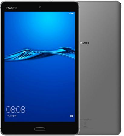 Планшет Huawei MediaPad M3 Lite CPN-L09 53019449 Snapdragon 435 (1.4) / 3Gb / 32Gb / 8 IPS WUXGA / Wi-Fi / BT / 3G / LTE / 8+8mpx / Android 7.0 / Grey case for huawei mediapad m3 lite 8 case cover m3 lite 8 0 inch leather protective protector cpn l09 cpn w09 cpn al00 tablet case