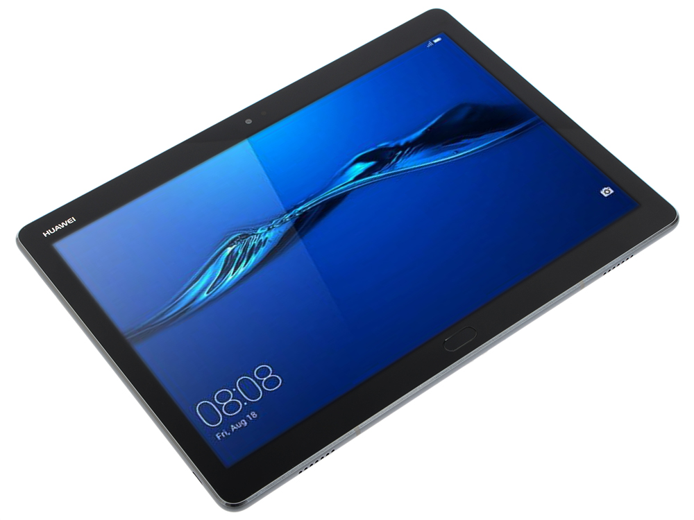 Планшет Huawei MediaPad M3 Lite 10 BAH-L09 (53018965) Snapdragon 435 (1.4) / 3Gb / 16Gb / 10.1 IPS WUXGA / Wi-Fi / BT / 3G / LTE / 8+8mpx / Android 7.0 / Grey планшет huawei mediapad t3 8 lte 16gb kob l09 grey 53018493 qualcomm snapdragon msm8917 1 4 ghz 2048mb 16gb lte 3g wi fi cam 8 0 1280x800 android
