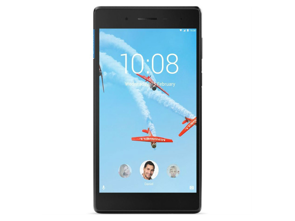 Планшет Lenovo Tab 4 TB-7504X Black (ZA380040RU) MediaTek MT8735B (1.3)/2GB/16GB/7 1280x720 IPS/3G/4G LTE/GPS/WiFi/BT/Android 7.0 планшет dell venue8 16gb wifi v8 16rb 3g