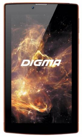 Планшет Digma Plane 7012M 3G (Red) MediaTek MT8321 (1.3) / 1Gb / 8Gb / 7 1024x600 IPS / 3G / 2Mp, 0.3Mp Cam / Android 7.0 (PS7082MG) archos 101c xenon 3g [503428] 10 1280x800 ips 1gb 32gb mediatek mt8321 mali 400 mp2 2xsim micro usb microsd camera wi fi bt 4500mah android 7 0