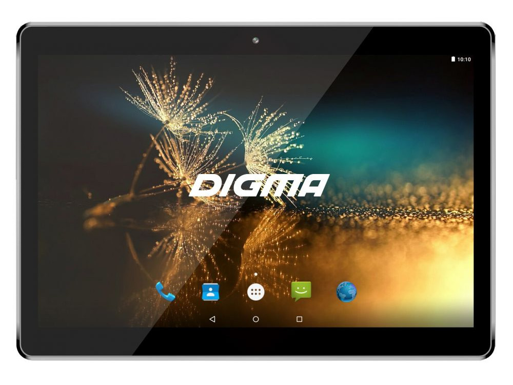 Планшет Digma Plane 1525 3G (Silver) MediaTek MT8321 (1.3) / 2Gb / 16Gb / 10.1 1280x800 / 2SIM / 3G / WiFi / BT / GPS / Android 7.0 digma optima 7010d 3g