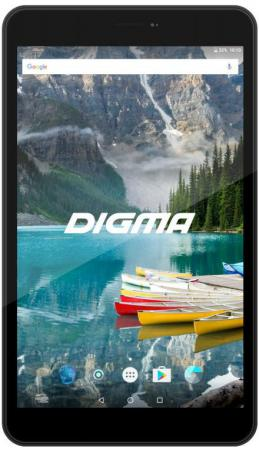 Планшет Digma Plane 8558 4G (Black) Spreadtrum SC9832 (1.5) / 1Gb / 16Gb / 8