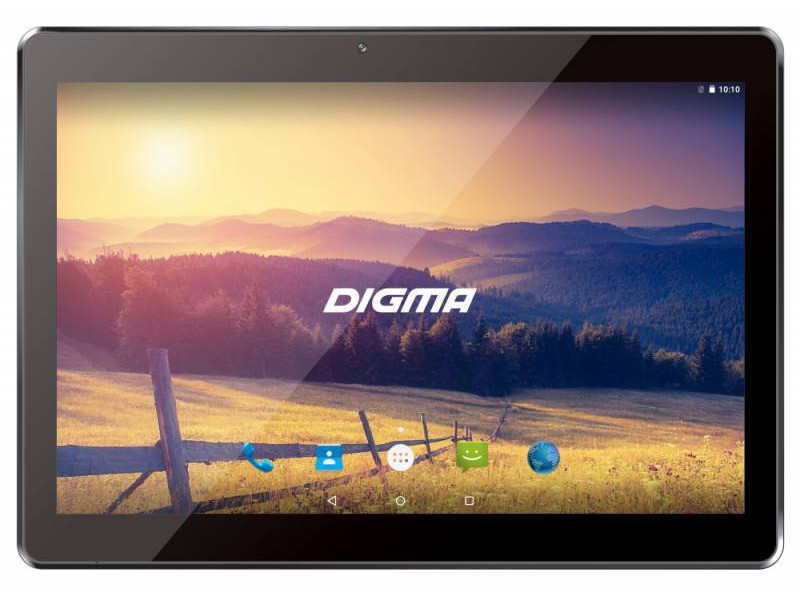 Фото Планшет Digma Plane 1524 (PS1136MG) MediaTek MT8321 (1.3) / 2Gb / 16Gb / 10.1 1280x800 IPS / 3G / 2Mp, 0.3Mp Cam / Android 7.0 (Silver) сотовый телефон digma linx a177 2g