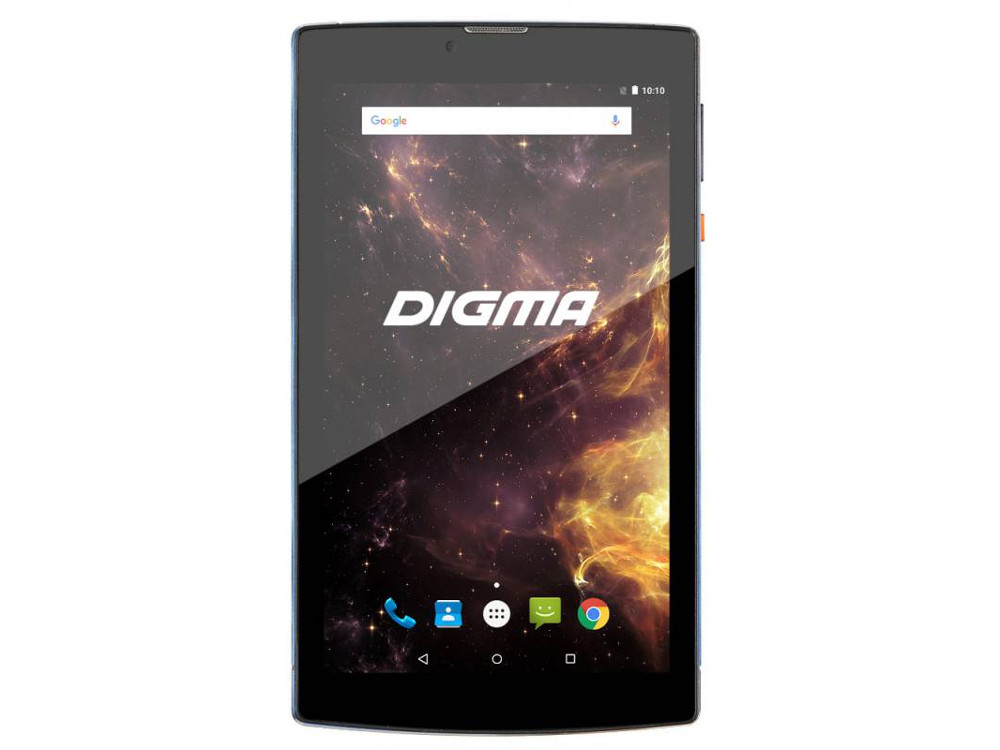 Планшет Digma Plane 7012M 3G (Blue) MediaTek MT8321 (1.3) / 1Gb / 8Gb / 7 1024x600 IPS / 3G / 2Mp, 0.3Mp Cam / Android 7.0 archos 101c xenon 3g [503428] 10 1280x800 ips 1gb 32gb mediatek mt8321 mali 400 mp2 2xsim micro usb microsd camera wi fi bt 4500mah android 7 0
