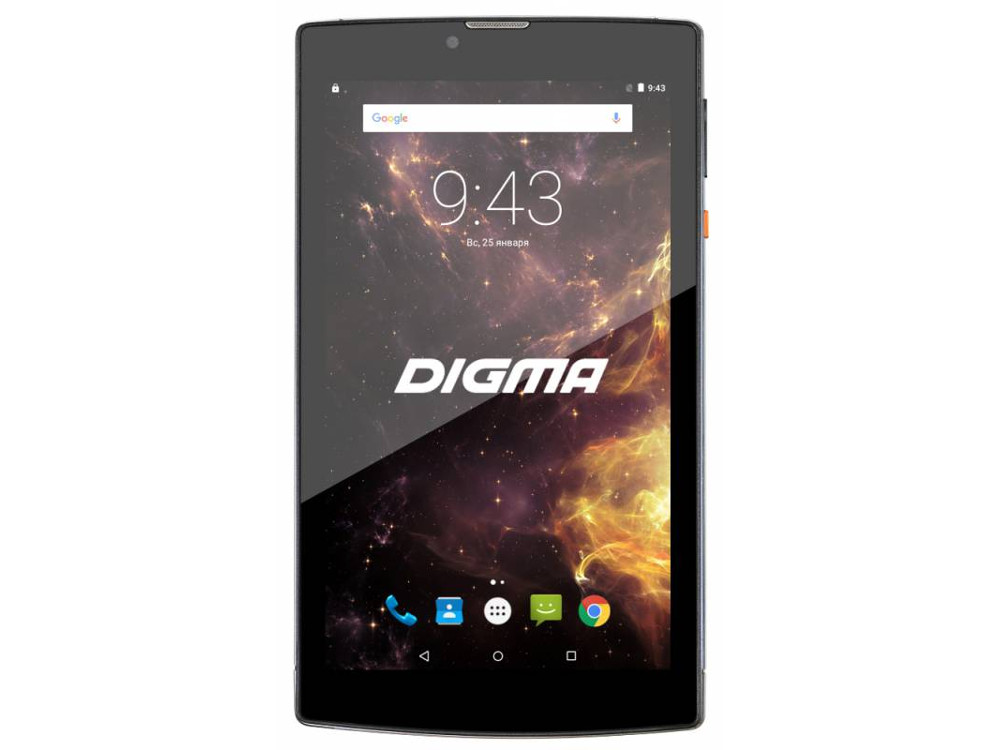 Планшет Digma Plane 7012M 3G (Light Blue) MediaTek MT8321 (1.3) / 1Gb / 8Gb / 7 1024x600 IPS / 3G / 2Mp, 0.3Mp Cam / Android 7.0 archos 101c xenon 3g [503428] 10 1280x800 ips 1gb 32gb mediatek mt8321 mali 400 mp2 2xsim micro usb microsd camera wi fi bt 4500mah android 7 0