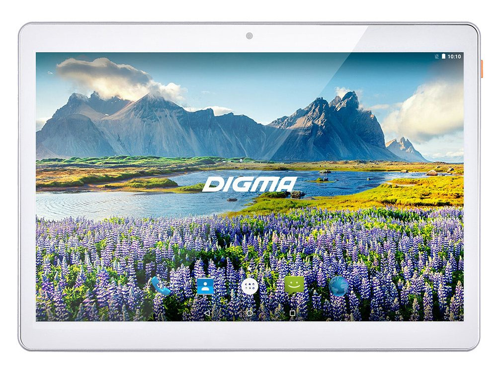 Планшет Digma Plane 9634 3G (White) MediaTek MT8321 (1.3) / 2Gb / 32Gb / 9.6