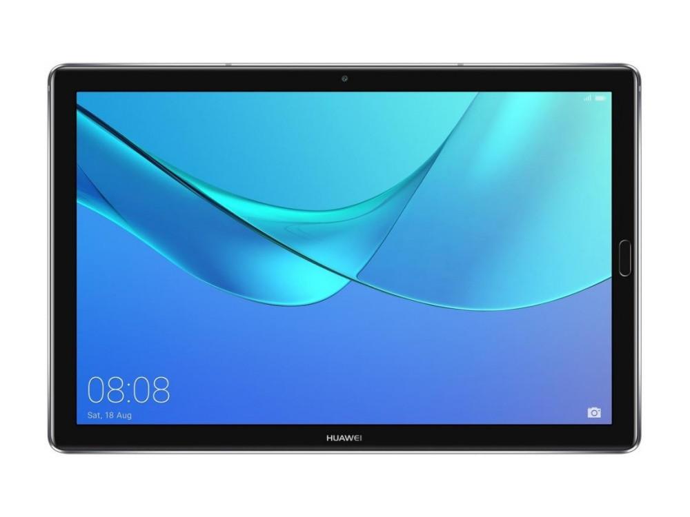 Планшет Huawei MediaPad M5 PRO 10 (53010BLN) HiSilicon Kirin 960 (2.4) / 4GB / 64GB / 10.8 2560х1600 IPS / 3G / 4G LTE / WiFi / BT / GPS / 13Mp, 8 Mp / Android 8.0 (Gray) планшет huawei mediapad m5 8 4 3g lte champagne gold
