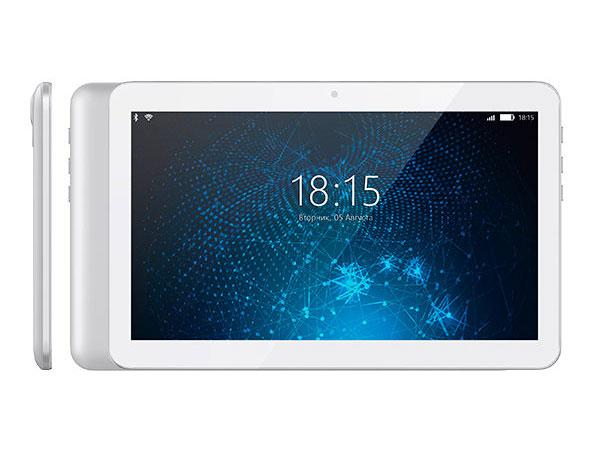"Планшет BQ-1081G White SC7731 (1.2) / 1Gb / 8Gb / 10.1"" TN WXGA / Wi-Fi / BT / 3G / 0.3+2mpx / Android 7.0 / White"