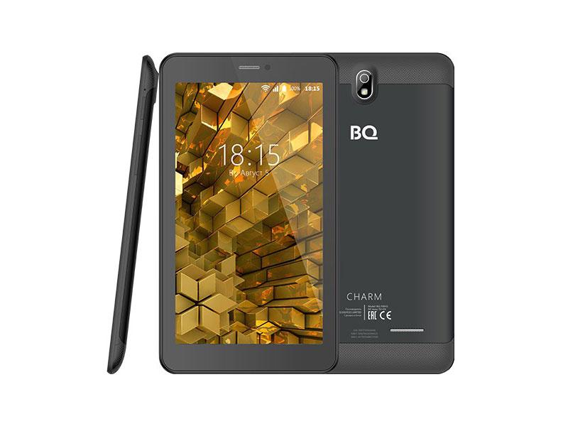 Планшет BQ-7081G Charm MT8321 / 1Gb / 8Gb / 7 IPS WSVGA / Wi-Fi / BT / 3G / 8+5mpx / Android 7 / Black cube iplay 8 7 85 дюймовый планшет 1 гб 16 гб mt8163 wi fi планшет 1024x768 ips экран