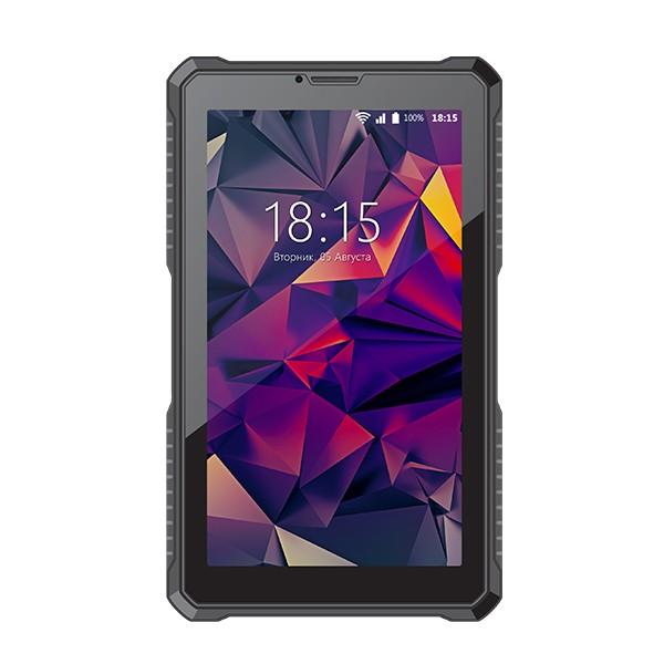 Планшет BQ-7082G Armor Print11 SC7731C (1.2) / 1Gb / 8Gb / 7 WSVGA / Wi-Fi / BT / 3G / 2+0.3mpx / Android 7 / Black планшет lenovo tab 4 tb 7304x 7 za330081ru mediatek mt8735d 1 1 1gb 16gb 7 ips wi fi bt 3g lte 2 2mpx android black