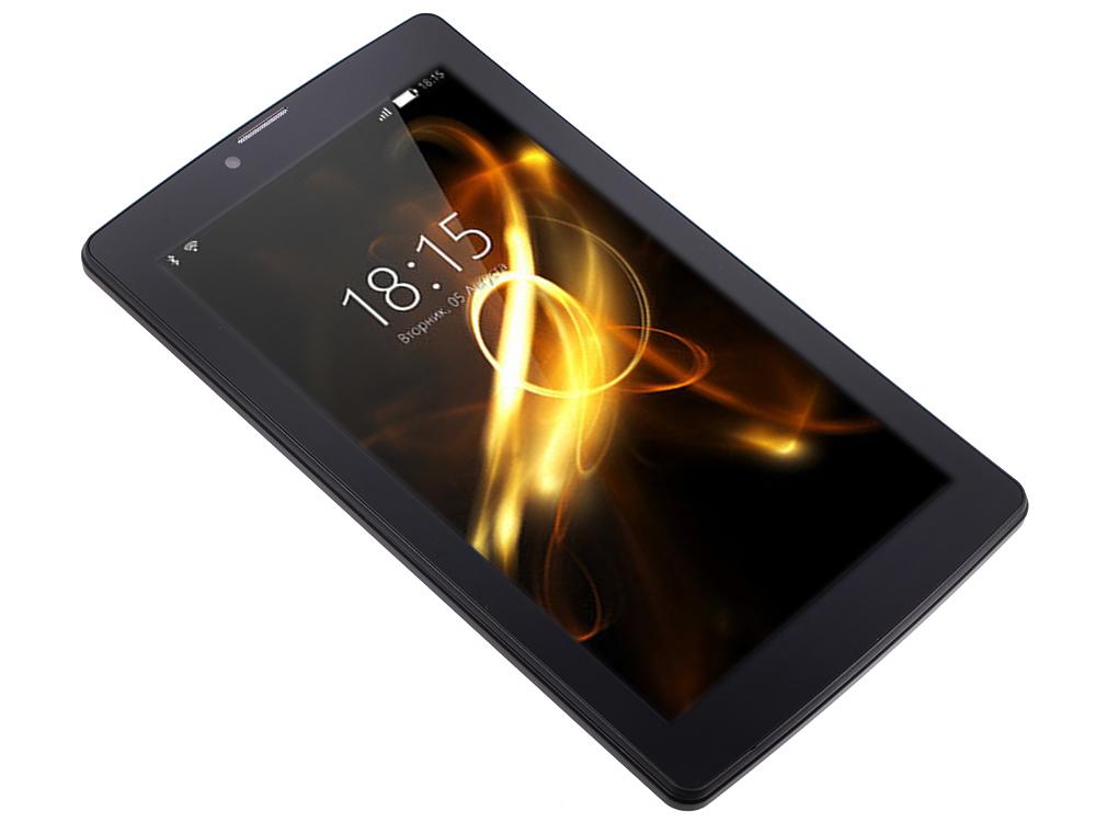 Планшет BQ-7083G Light SC7731 (1.0) / 1Gb / 8Gb / 7 WSVGA / Wi-Fi / BT / 3G / 2+0.3mpx / Android 7 / Black планшет tesla neon color 7 0 3g 7 8gb синий wi fi 3g android neon 7 0 3g