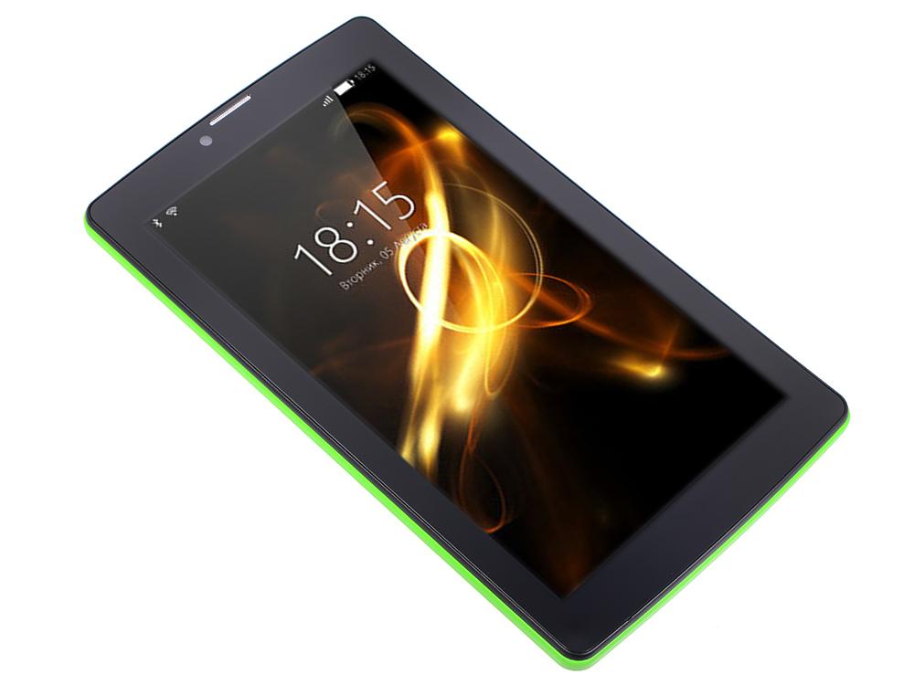 Планшет BQ-7083G Light SC7731 (1.0) / 1Gb / 8Gb / 7 WSVGA / Wi-Fi / BT / 3G / 2+0.3mpx / Android 7 / Green планшет tesla neon color 7 0 3g 7 8gb синий wi fi 3g android neon 7 0 3g