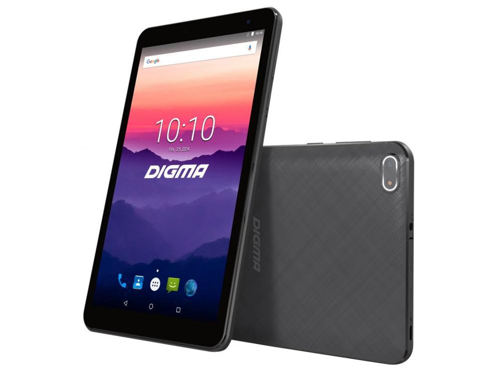 Планшет Digma Optima 7018N (TS7179ML) MTK8735V (1.0) / 2GB / 16GB / 7 1024x600 IPS / 3G / LTE / BT / GPS / 2Mp, 0.3 Mp / Android 7.0 (Black) digma optima 7 21 7 4gb 3g dark blue