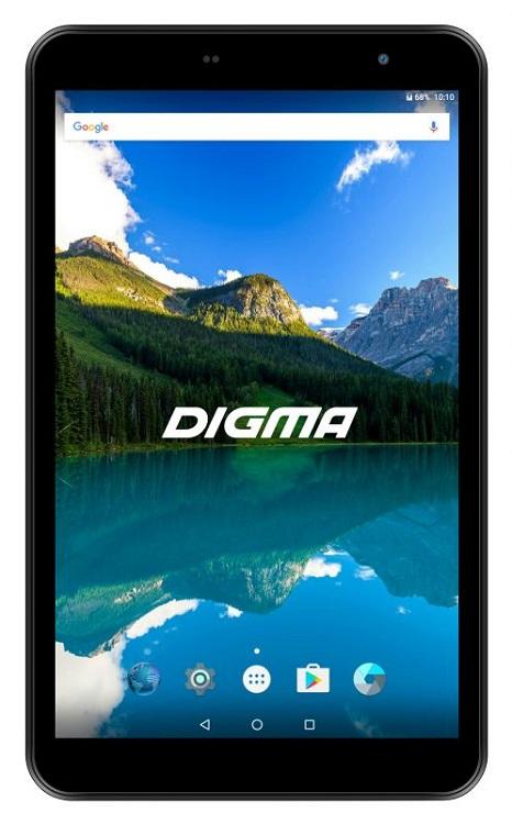 Планшет Digma Optima 8019N 4G TS8182ML MT8735V (1.0) / 1Gb / 8Gb / 8 IPS WXGA / Wi-Fi / BT / 3G / 4G / 0.3+2mpx / Android 7.0 / Black digma optima 1030d 3g