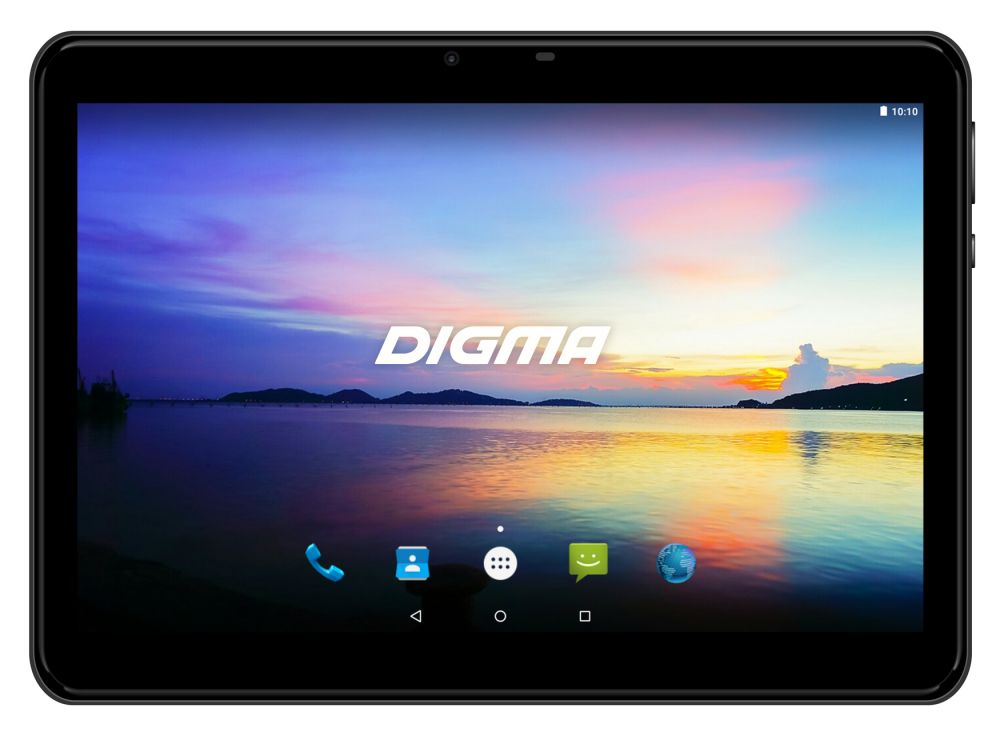 Планшет Digma Plane 1573N 4G PS1189ML MT8735V (1.0) / 1Gb / 16Gb / 10.1 IPS / Wi-Fi / BT / 3G / 4G / 0.3+2mpx / Android 7.0 / Black