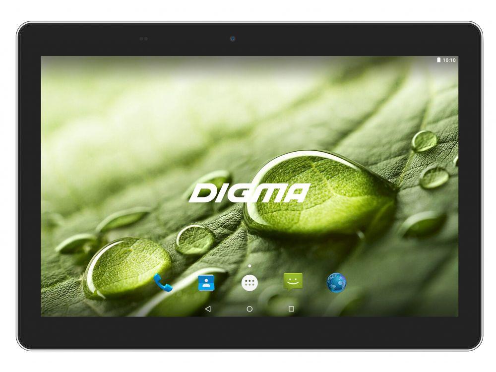 Планшет Digma Optima 1022N (TS1184MG) MTK8321 (1.3) / 1GB / 16GB / 10.1 1280x800 IPS / 3G / BT / GPS / 2Mp, 0.3 Mp / Android 7.0 (Black) планшет digma optima 1025n ts1190ml mtk8735v 1 0 2gb 16gb 10 1 1280x800 ips 3g lte bt gps 2mp 0 3 mp android 7 0 white