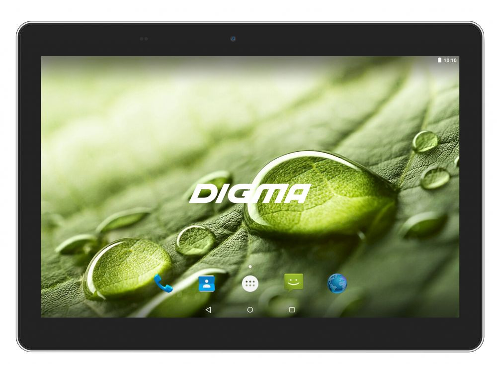 Планшет Digma Optima 1022N (TS1184MG) MTK8321 (1.3) / 1GB / 16GB / 10.1 1280x800 IPS / 3G / BT / GPS / 2Mp, 0.3 Mp / Android 7.0 (Black) планшет