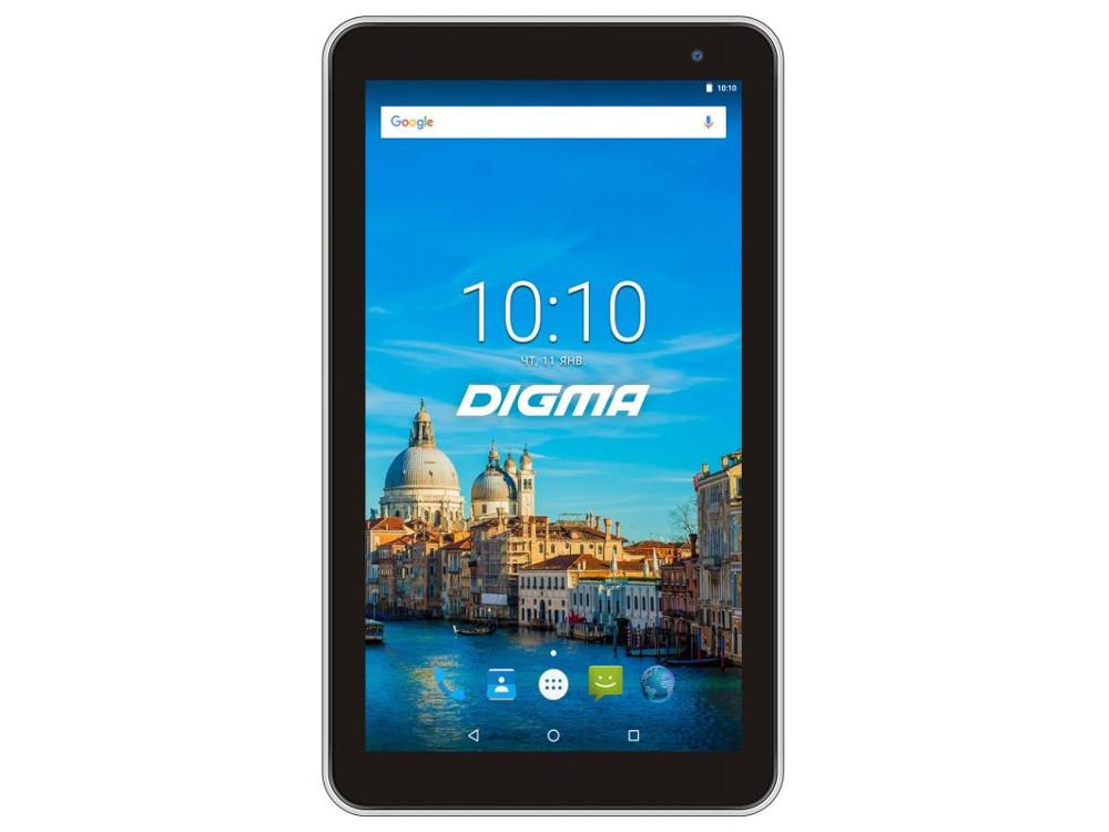 Планшет Digma Optima 7017N (TS7177MG) MTK8321 (1.3) / 2GB / 16GB / 7 1024x600 IPS / 3G / BT / GPS / 2Mp, 0.3 Mp / Android 7.0 (White)