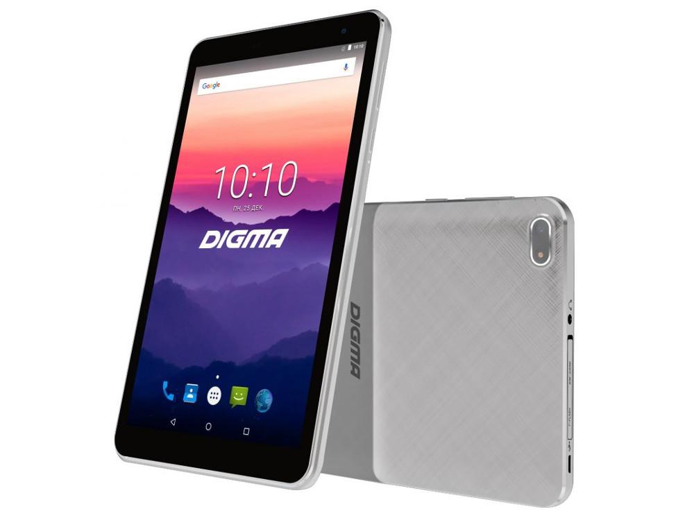 Планшет Digma Optima 7018N (TS7179ML) MTK8735V (1.0) / 2GB / 16GB / 7 1024x600 IPS / 3G / LTE / BT / GPS / 2Mp, 0.3 Mp / Android 7.0 (White) digma optima 7 21 7 4gb 3g dark blue