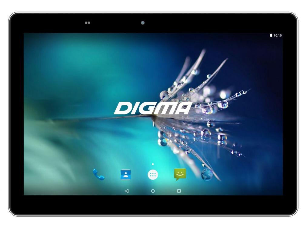Планшет Digma Optima 1025N (TS1190ML) MTK8735V (1.0) / 2GB / 16GB / 10.1 1280x800 IPS / 3G / LTE / BT / GPS / 2Mp, 0.3 Mp / Android 7.0 (Black) планшет