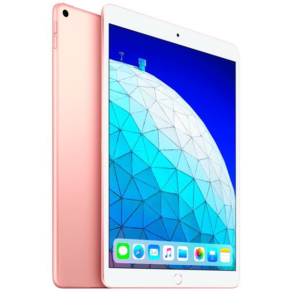 Планшет Apple iPad Air Wi-Fi+Cellular 64GB 10.5 золотой 2019 MV0F2RU/A A12 (2.49) / 64Gb / 10.5'' Retina / Wi-Fi / BT / 3G / LTE /7+8mpx / iOS 12 / G apple ipad air 2 wi fi cellular 32gb silver mnvq2ru a