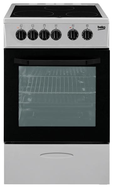 Электрическая плита BEKO CSS 48100 GS beko css 48100 gw white