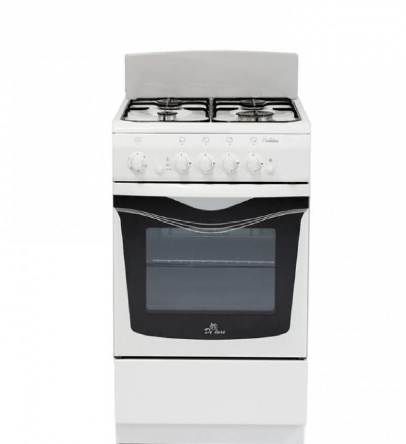 Газовая плита DE LUXE 506040.04г щ газовая плита de luxe 5040 45г щ 001 газовая духовка белый