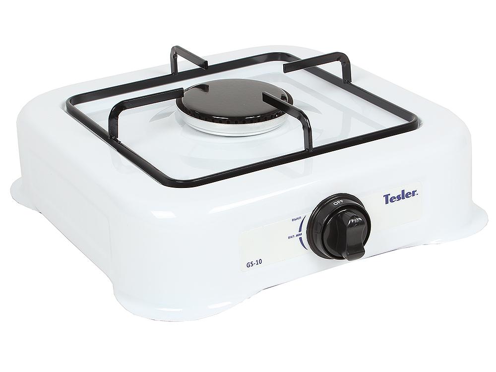 Плитка газовая TESLER GS-10 электрическая плитка tesler pe 10 white pe 10 white