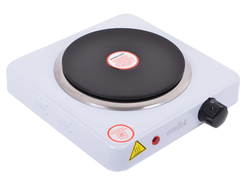 Электроплитка SMILE SEP 9005 (Нагревательный диск 155 мм; Плавно регулируемый термостат; Контрольная лампочка; Большая устойчивость; Материал п forgestar a90010 регулируемый термостат с индикатором